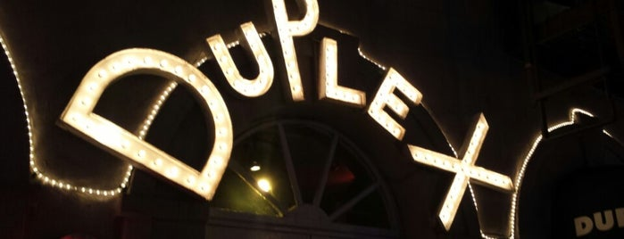 The Duplex is one of NYC Food, Drinks, Culture & Entertainment.