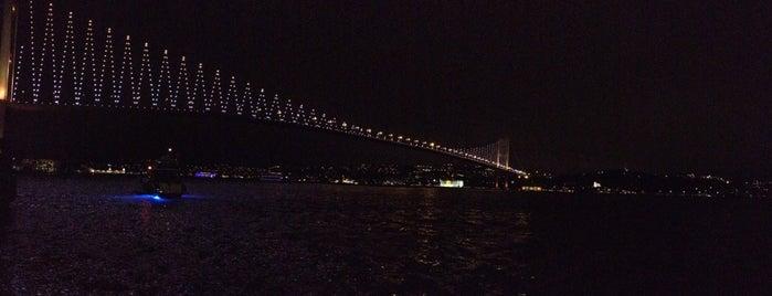Ortaköy Sahili is one of İSTANBUL İÇİN 100 YER.