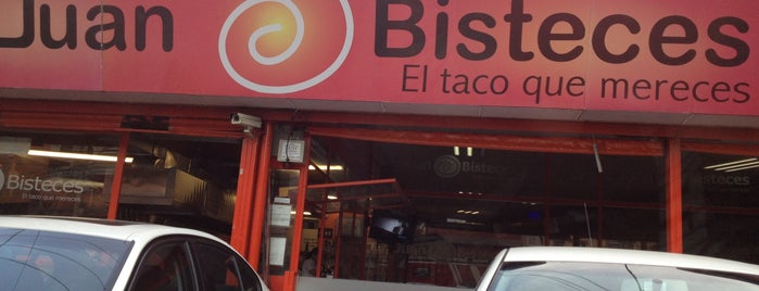 Juan Bisteces is one of Taquerias para la dieta..