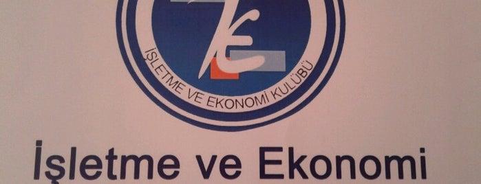 İşletme ve Ekonomi Kulübü is one of Gespeicherte Orte von Zeynep.