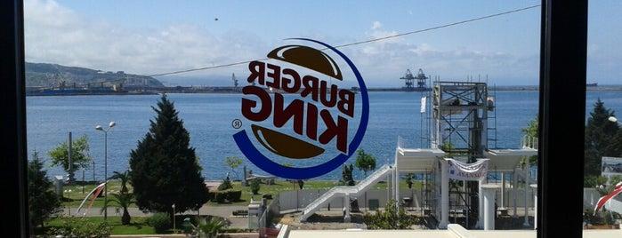Burger King is one of Lugares favoritos de Hakan.