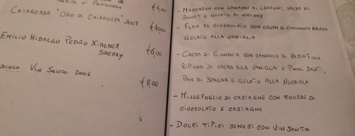 Osteria Le Logge is one of Locais curtidos por Ashley.