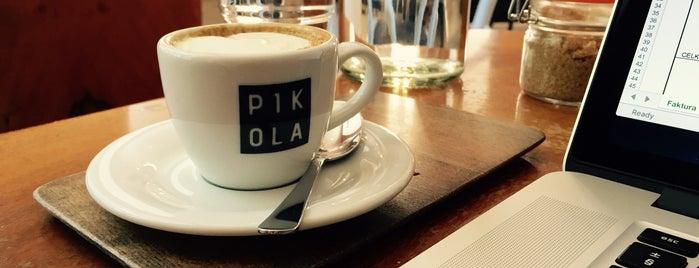 Pikola is one of Kde si pochutnáte na kávě doubleshot?.