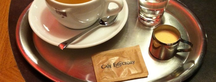 Cafe Factory is one of Galerie Šantovka.