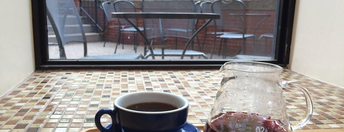 Barrington Coffee Roasting Company is one of Boston's best beans.