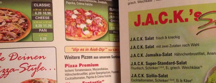 Pizza Jack is one of Hayley's Liked Places.