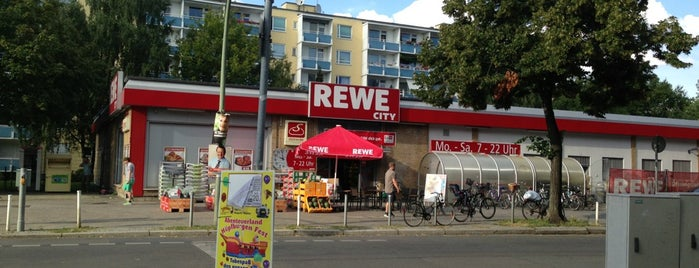 REWE City is one of Hayley's Liked Places.