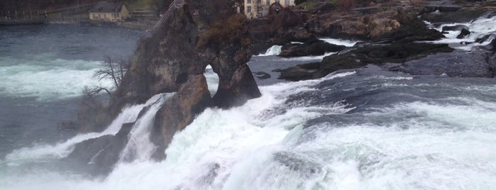 Rheinfall is one of Lake Constance.