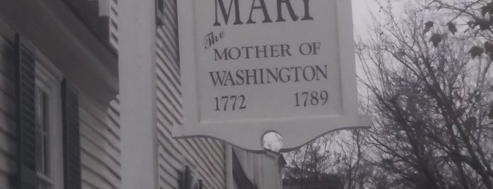 Mary Washington House is one of Orte, die Lizzie gefallen.
