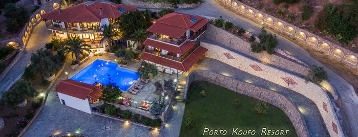 Porto Koufo Resort is one of Vassilena's Liked Places.