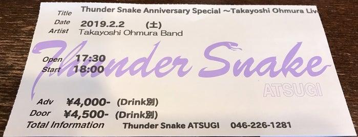 Thunder Snake ATSUGI is one of 海老名・綾瀬・座間・厚木.