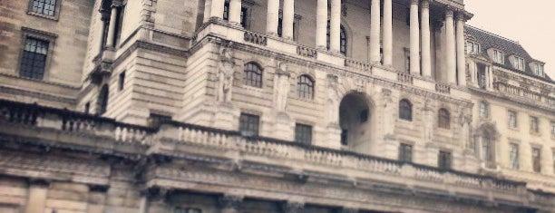 Bank of England is one of Мой список великих английских планов.