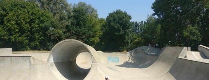 Elbo Skatepark is one of ZeroGuide • Bologna.