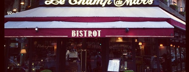 Bistrot Le Champ de Mars is one of Tempat yang Disukai Kayahan.