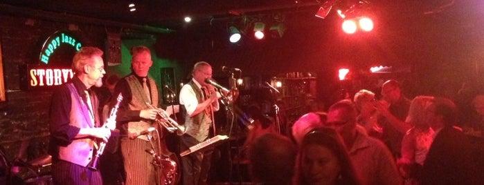 Happy Jazz Club is one of Bars.