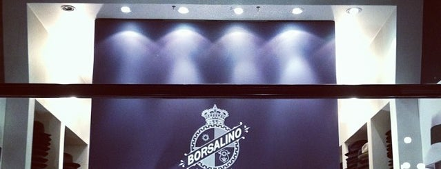 Borsalino is one of Milano.