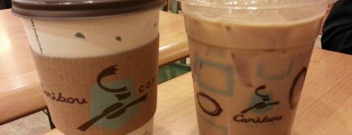 Caribou Coffee is one of Locais salvos de Emily.