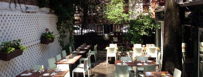A.O.C. L'aile ou la Cuisse is one of NYC's Best Patios, Rooftops, and Beer Gardens.