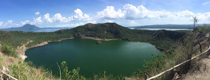 Taal Volcano is one of Philippines.