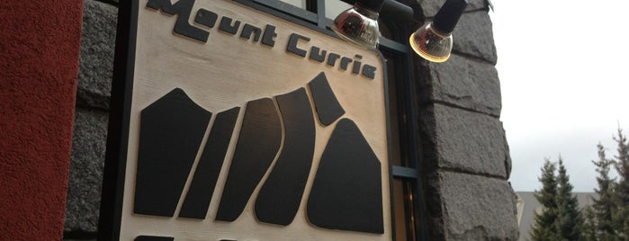 Mount Currie Coffee Co. is one of WHistler.