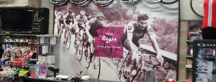Cycles Régis is one of Tempat yang Disukai Antoine.