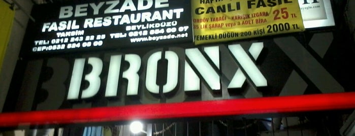 Bronx Pi Sahne is one of İkra's.
