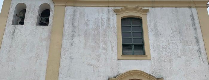 Igreja Matriz Nossa Senhora da Pena is one of Tempat yang Disukai Kleber.