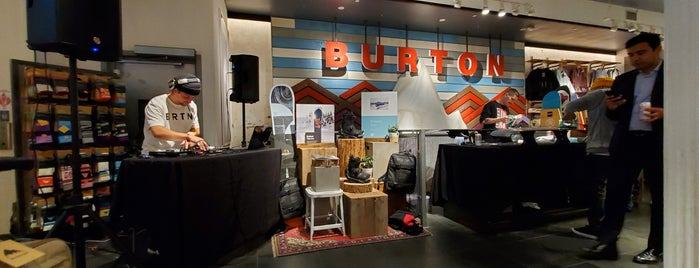 Burton is one of Locais curtidos por Jessica.