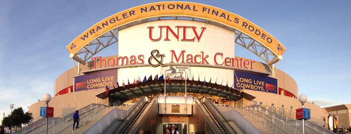 Thomas & Mack Center is one of Sporting Venues To Visit.....