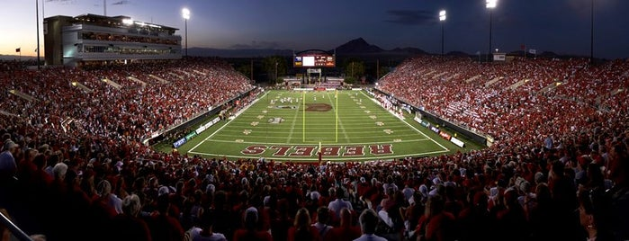 Sam Boyd Stadium is one of Las Vegas.