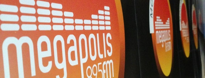 Megapolis 89.5 FM is one of Locais curtidos por Kathy.