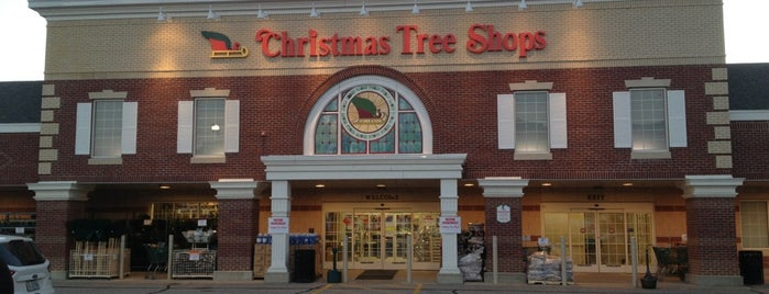 Christmas Tree Shops is one of Favorites.