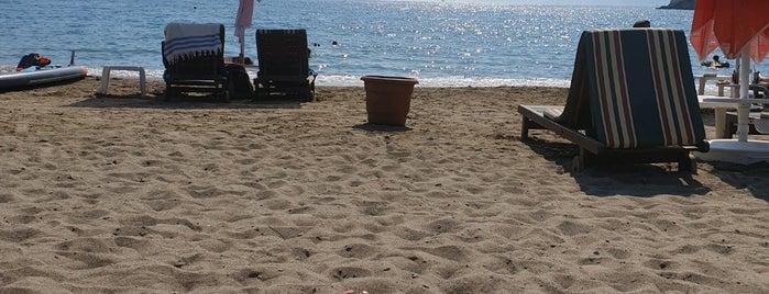 gunluklu koyu the bay beach club is one of Kamp Alanları.