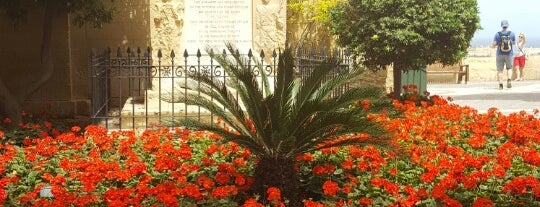 Upper Barrakka Gardens | Il-Barrakka ta' Fuq is one of Dasha : понравившиеся места.