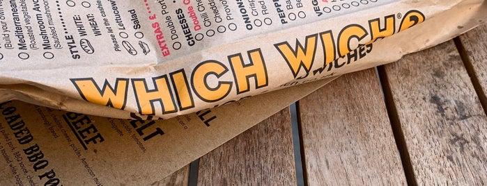 Which Wich Superior Sandwiches is one of Orte, die Azeem gefallen.