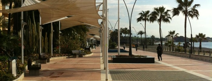Paseo Marítimo de Estepona is one of Visitados.