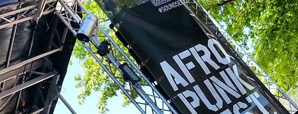 Afro-Punk Festival @ Commodore Barry Park is one of Tempat yang Disukai John.