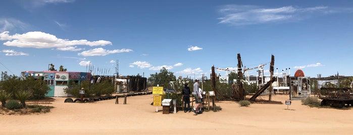 Noah Purifoy Outdoor Desert Museum is one of Psalm Sprangs.