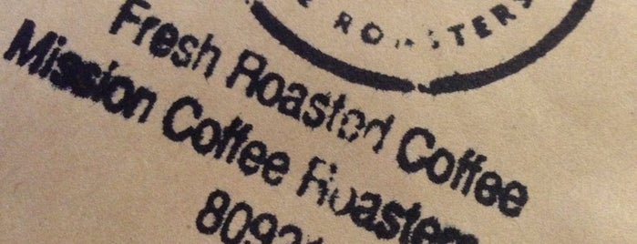 Mission Coffee Roasters is one of Stay Caffeinated.