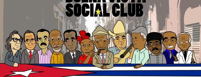 Buena Vista Social Club is one of alev.