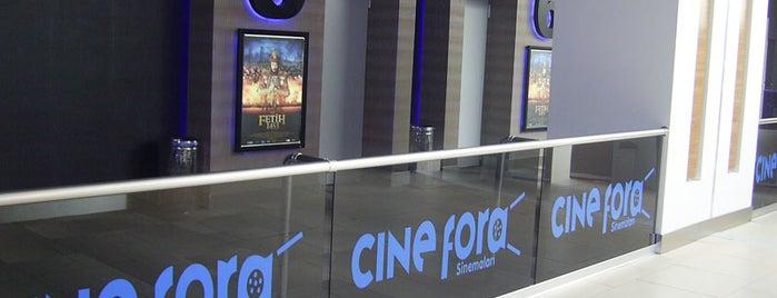 Cinefora is one of Locais curtidos por Selin.