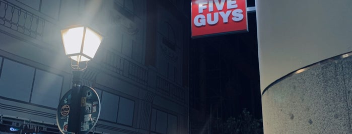 Five Guys is one of Ana.