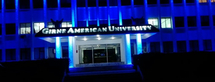 Girne American University is one of fix.