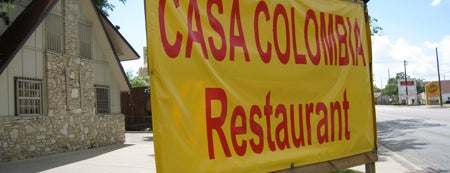 "Casa Colombia is one of Austin Visitor's guide ""Must-Try"" Eateries."