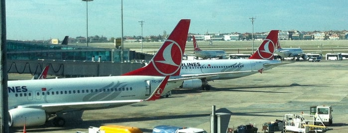 Gate 203 is one of İstanbul Atatürk Airport.
