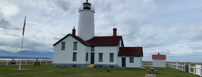 New Dungeness Lighthouse is one of Olympic National Park.