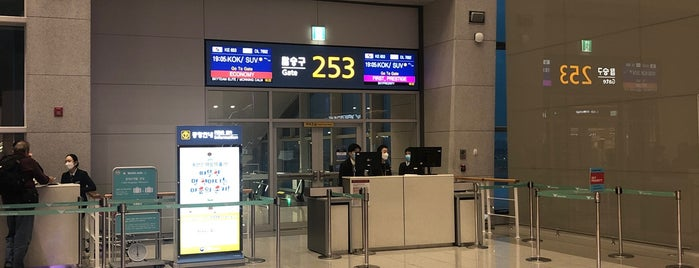 Gate 253 is one of 포르투갈-네덜란드.