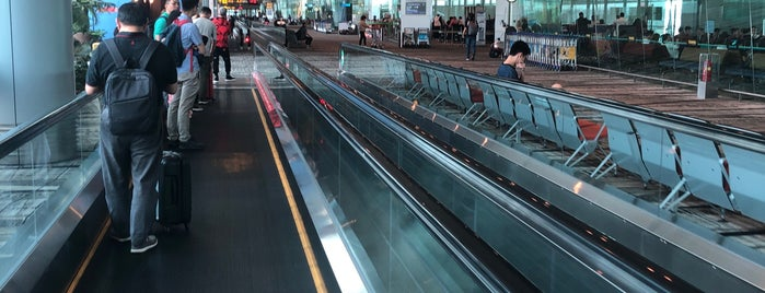 Concourse A is one of Singapur.