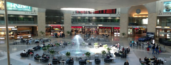 Ben Gurion International Airport (TLV) is one of Tempat yang Disukai Mariana.