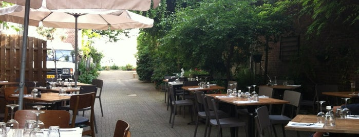 Restaurant Hemelse Modder is one of terrace/garden 020.